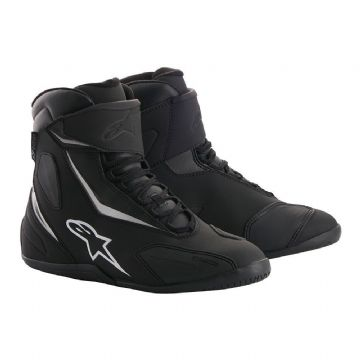 Alpinestars Fastback 2 Drystar Waterproof Motorcycle Shoe Boot Black & White